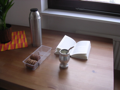 mate and cookies